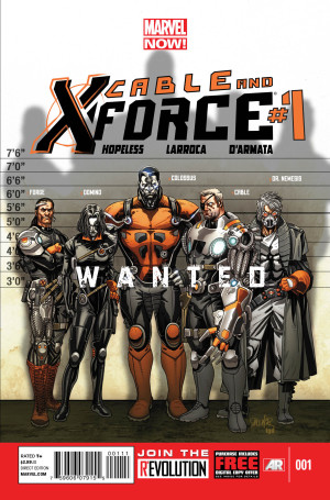 cable and xforce #1 cover