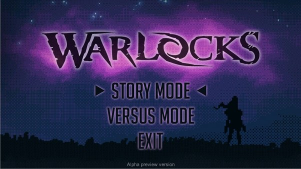 Warlocks Title Screen