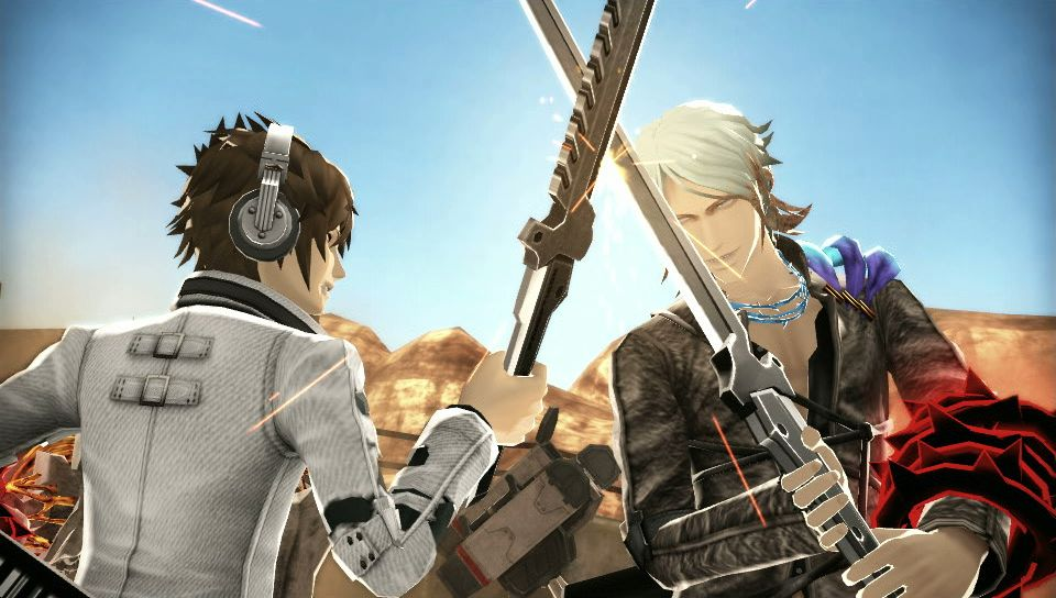 Freedom Wars has a story that doesn't quite pick up until...well, right here actually.