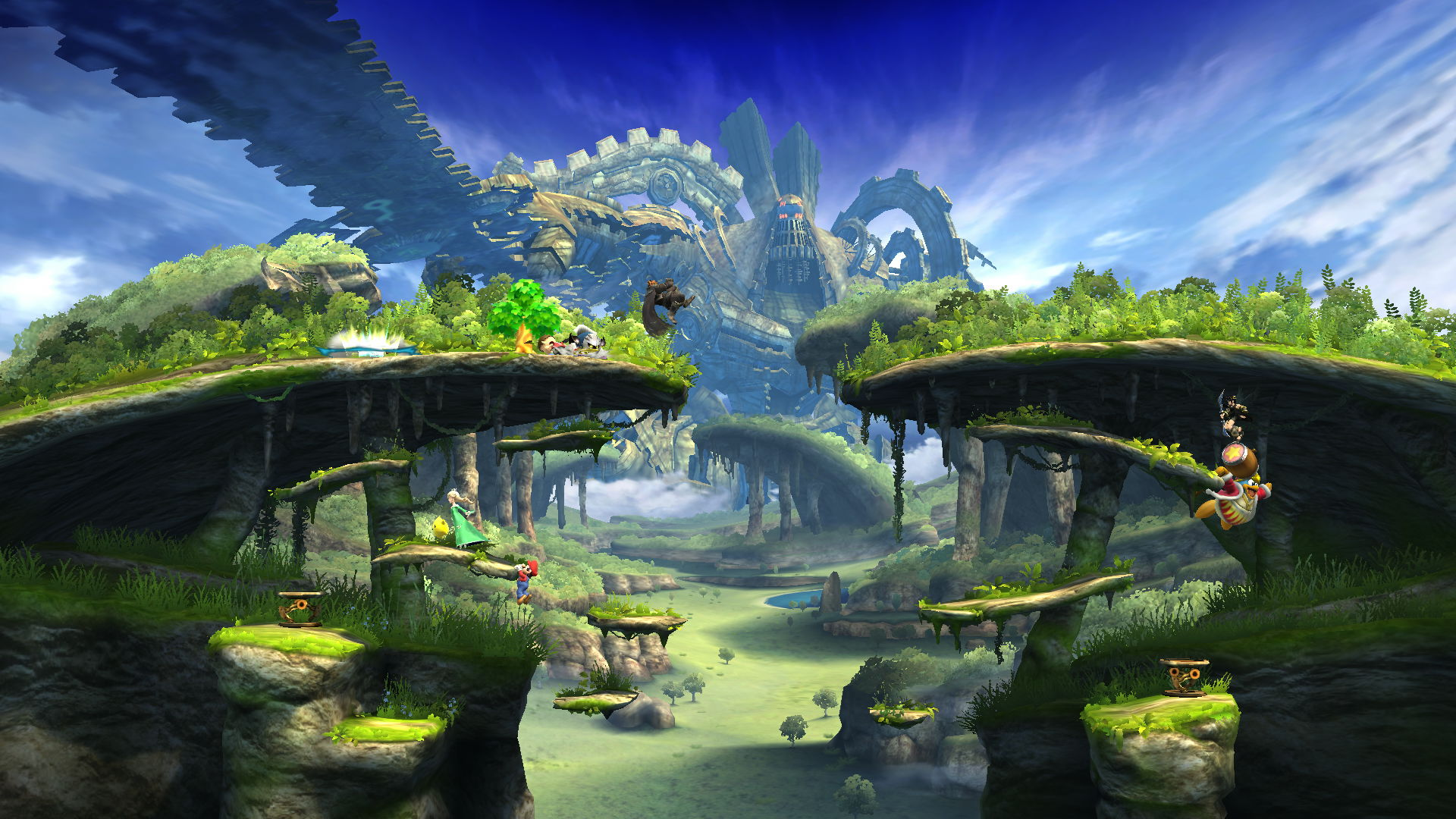 The new stages look gorgeous like Gaur Plains from Xenoblade Chronicles.